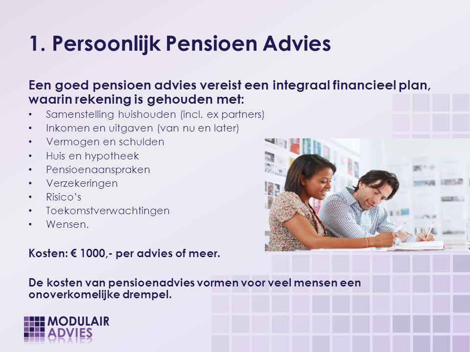 1. Persoonlijk Pensioen Advies