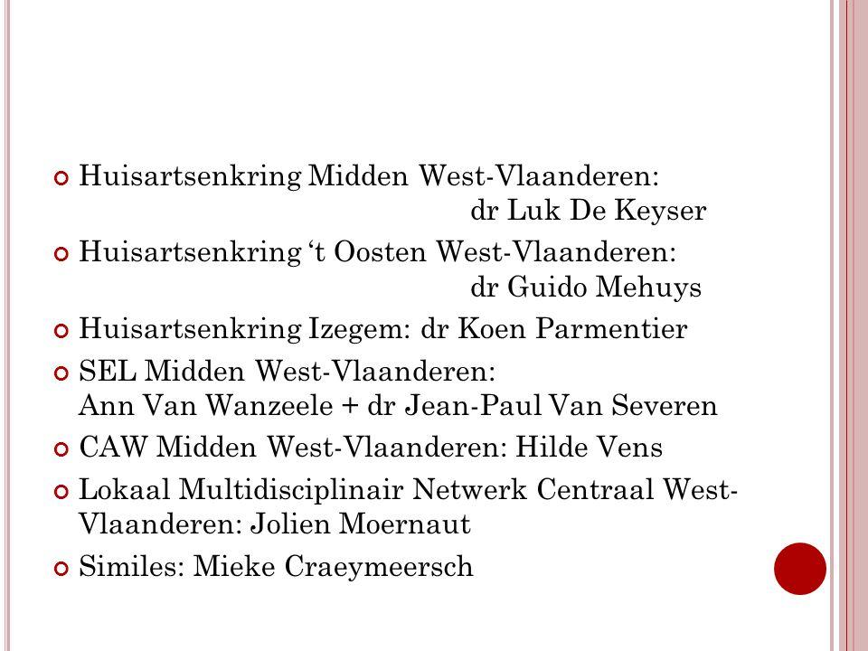 Huisartsenkring Midden West-Vlaanderen: dr Luk De Keyser