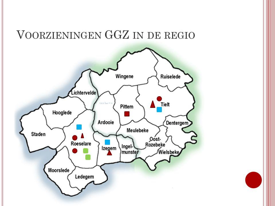 Voorzieningen GGZ in de regio