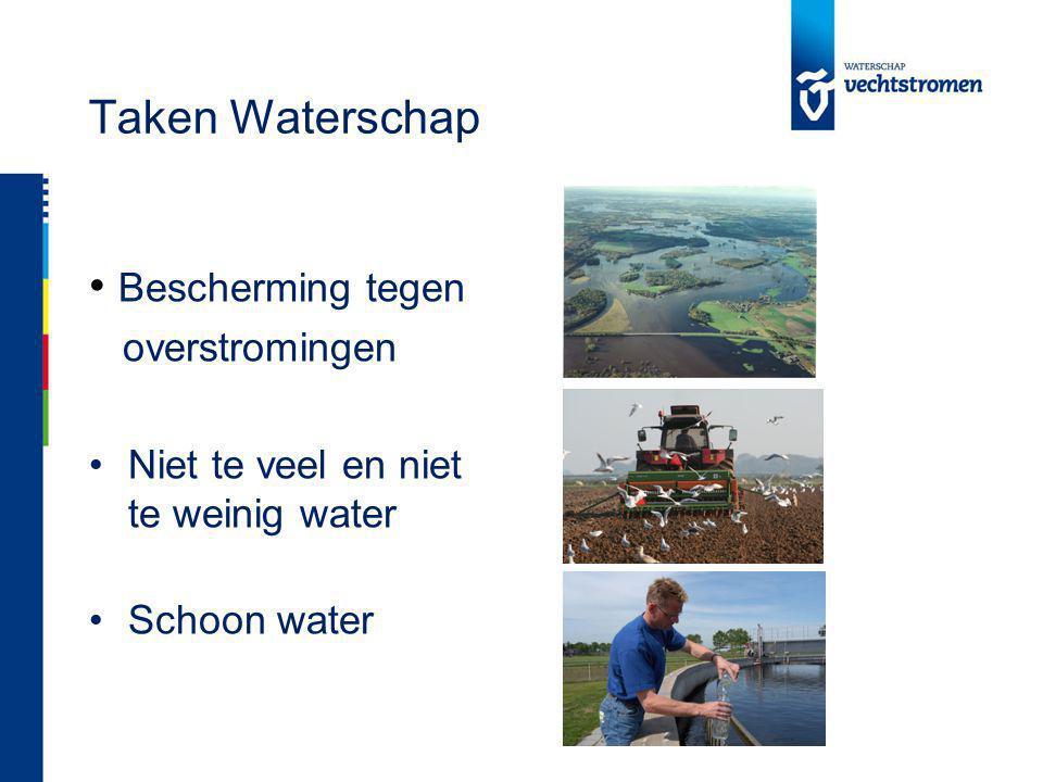 Taken Waterschap Bescherming tegen overstromingen