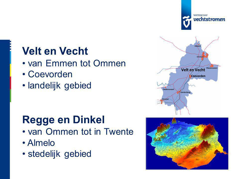 Velt en Vecht Regge en Dinkel van Emmen tot Ommen Coevorden