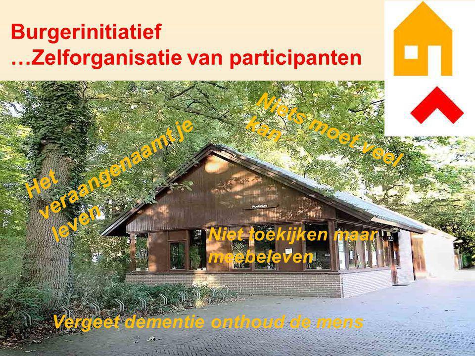 …Zelforganisatie van participanten