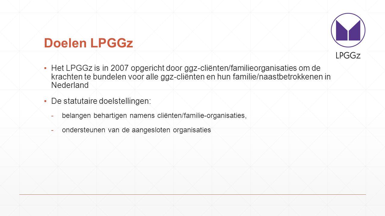 Doelen LPGGz