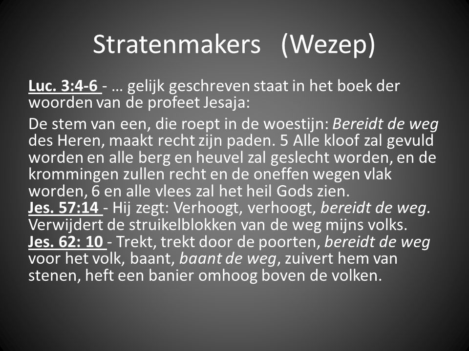 Stratenmakers (Wezep)