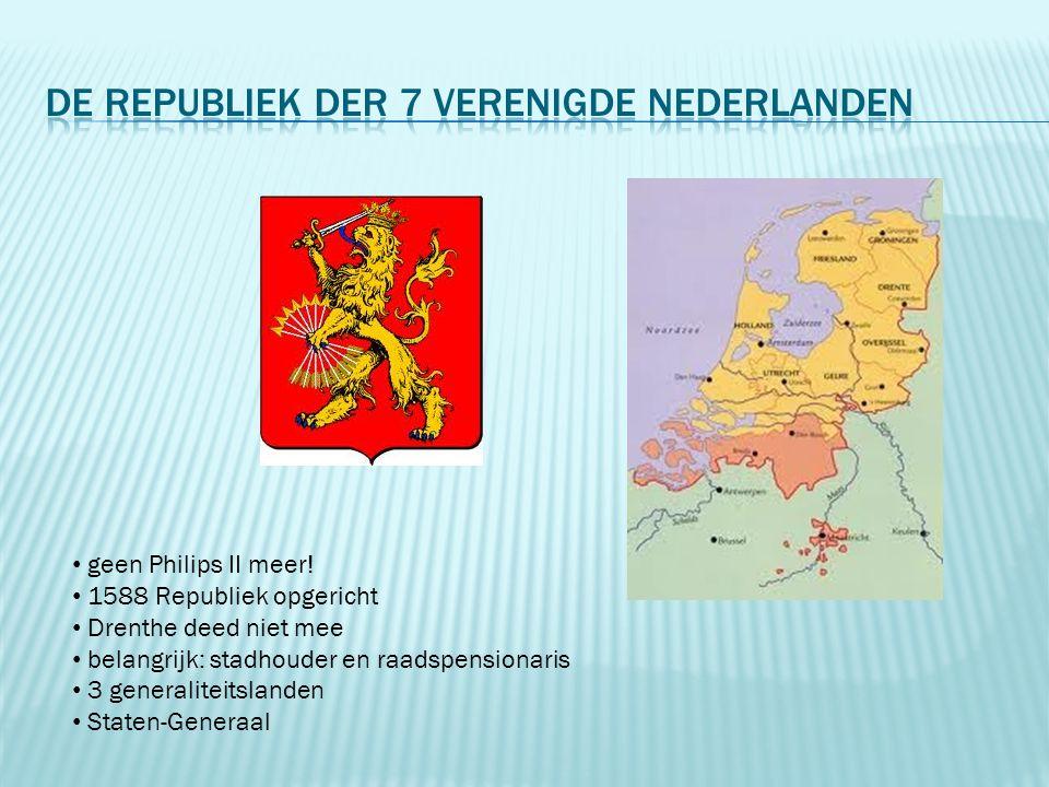 de Republiek der 7 verenigde nederlanden