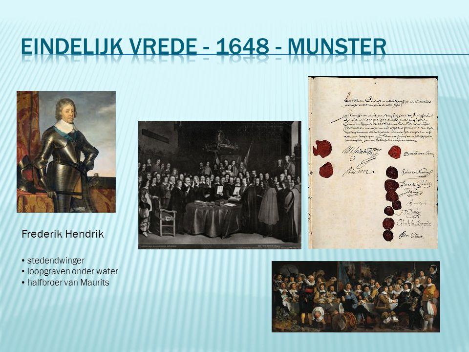Eindelijk vrede - 1648 - Munster