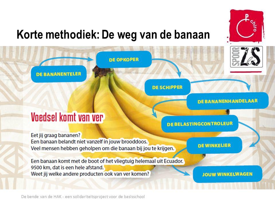 Korte methodiek: De weg van de banaan