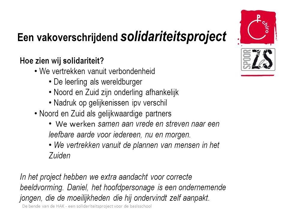 Een vakoverschrijdend solidariteitsproject