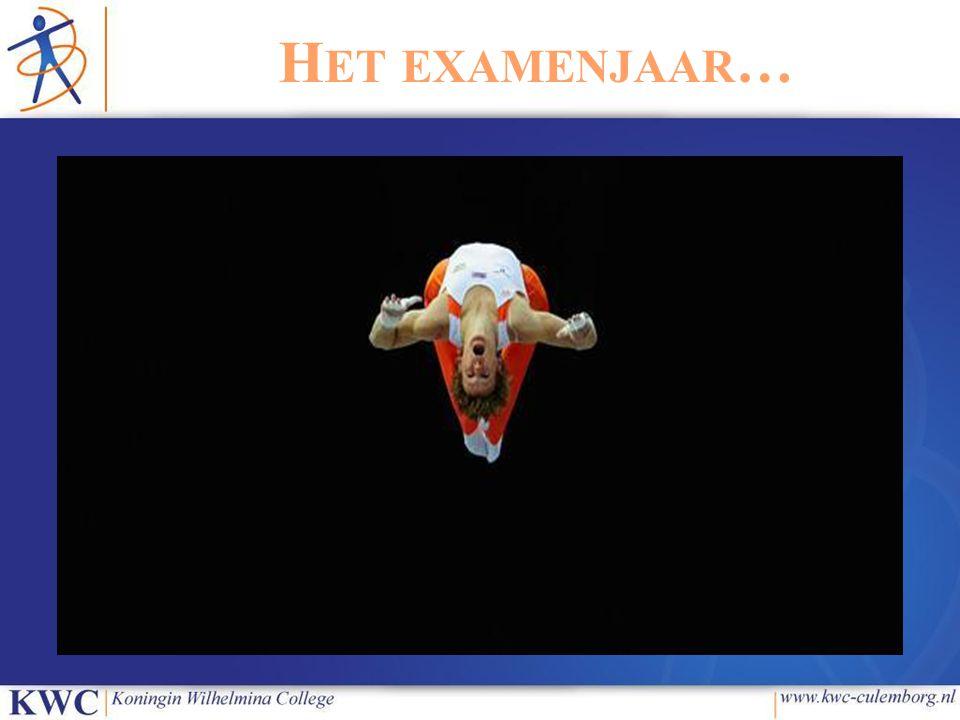 Het examenjaar… *