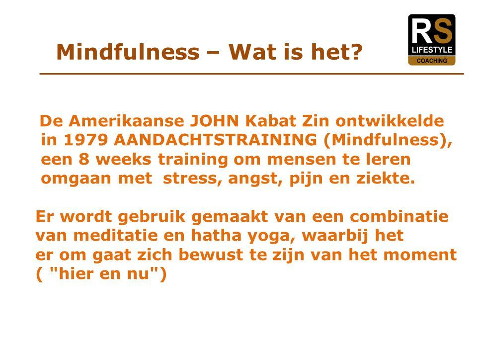 Mindfulness – Wat is het