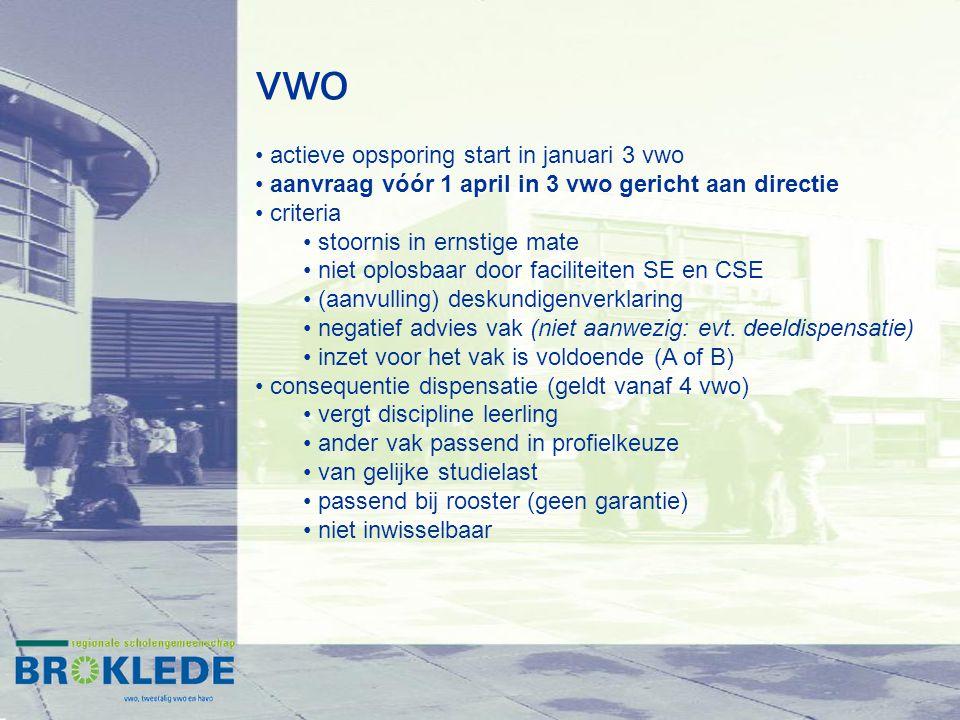 vwo actieve opsporing start in januari 3 vwo