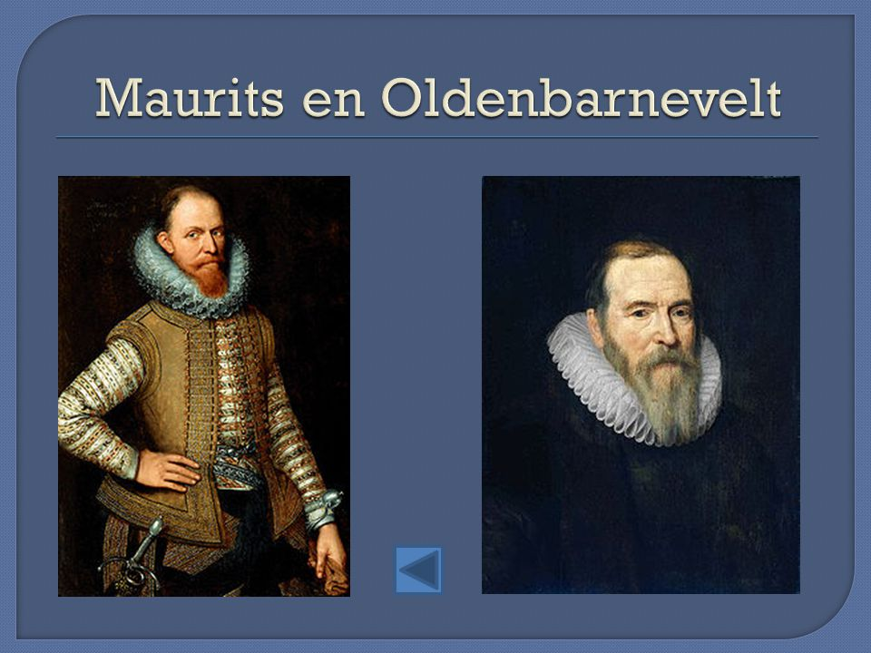 Maurits en Oldenbarnevelt