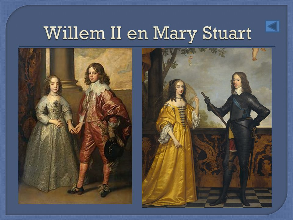 Willem II en Mary Stuart