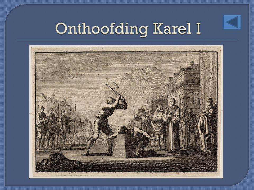 Onthoofding Karel I