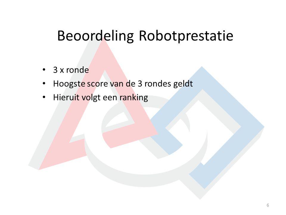 Beoordeling Robotprestatie