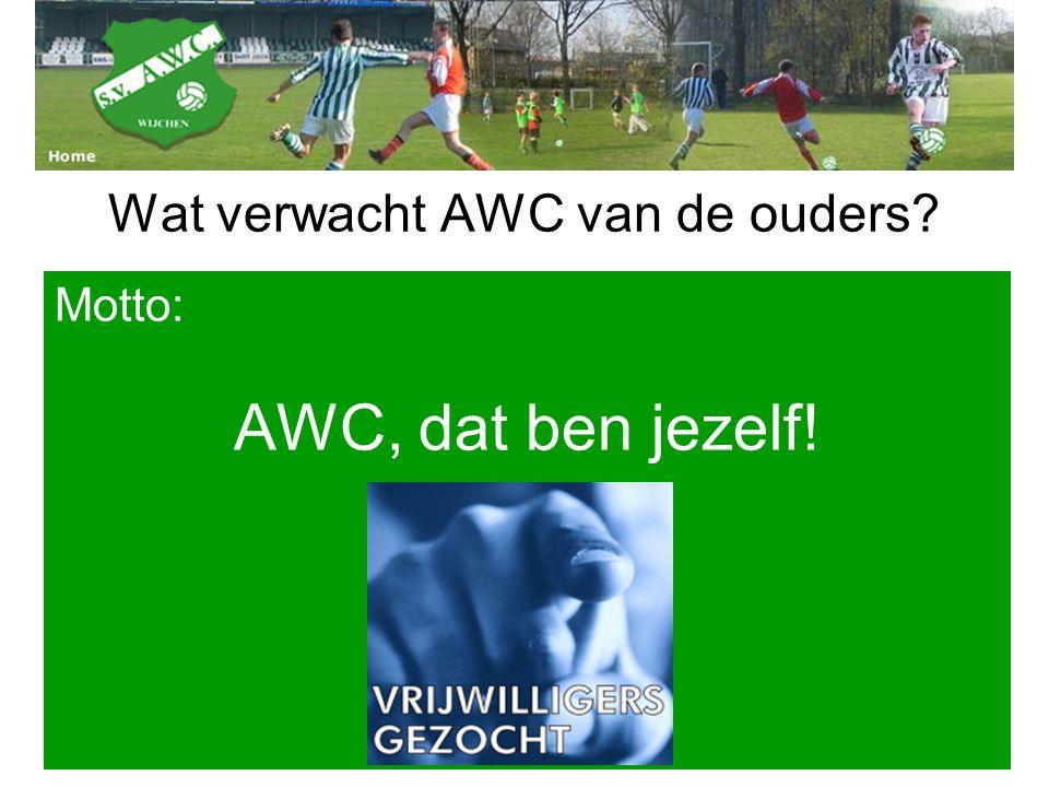 Wat verwacht AWC van de ouders