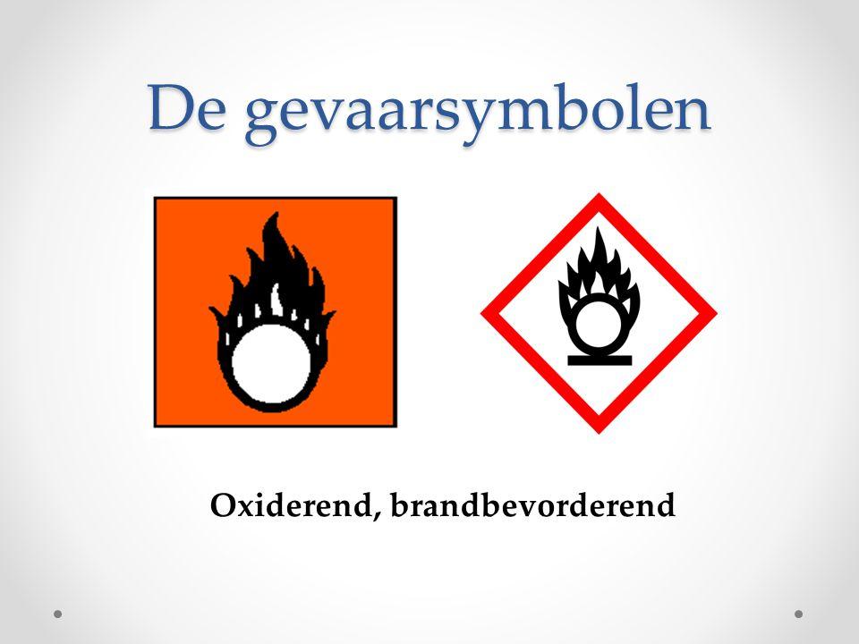 Oxiderend, brandbevorderend