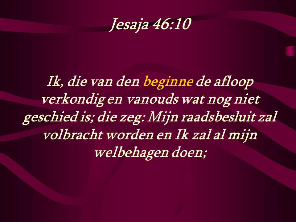 Jesaja 46:10