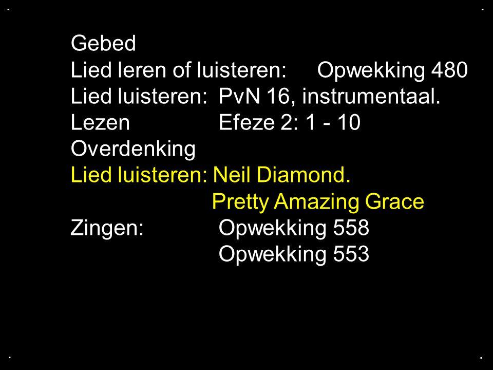 Lied leren of luisteren: Opwekking 480