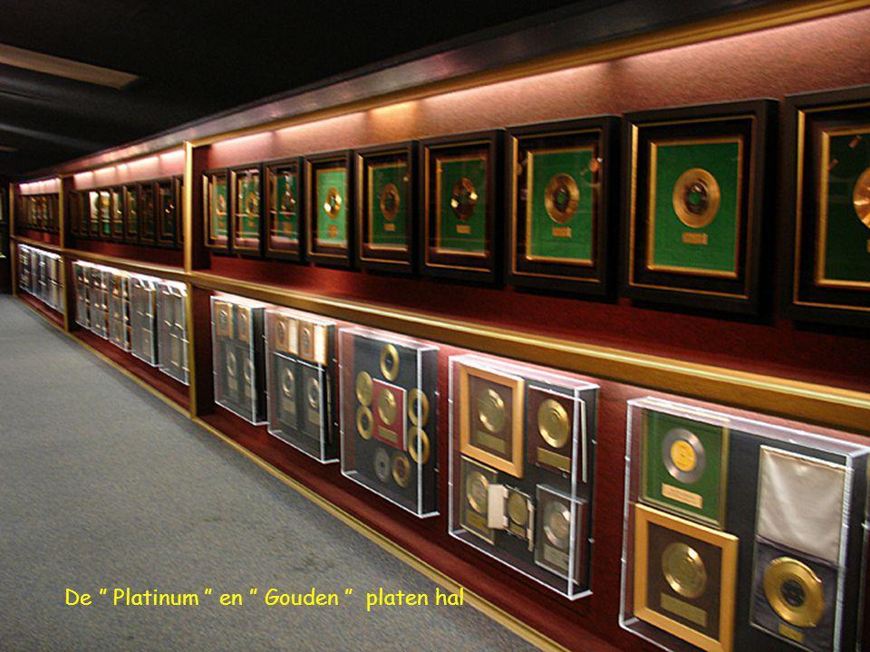 De Platinum en Gouden platen hal