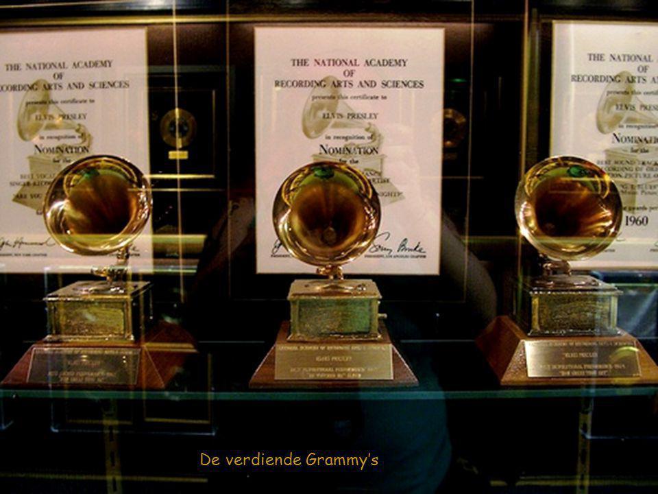 De verdiende Grammy's
