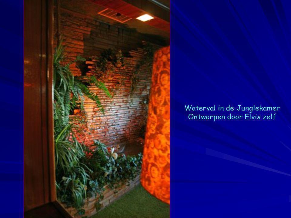 Waterval in de Junglekamer Ontworpen door Elvis zelf