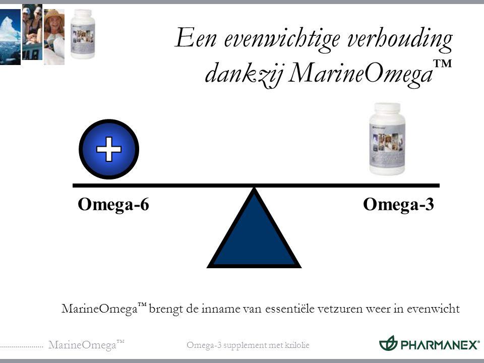 Een evenwichtige verhouding dankzij MarineOmega™