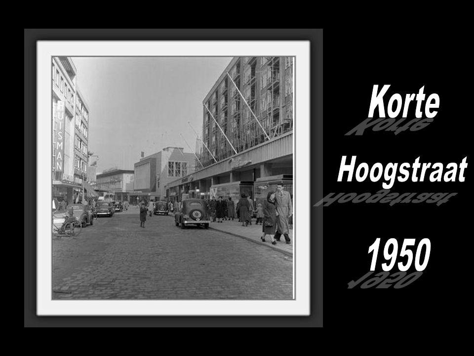 Korte Hoogstraat 1950