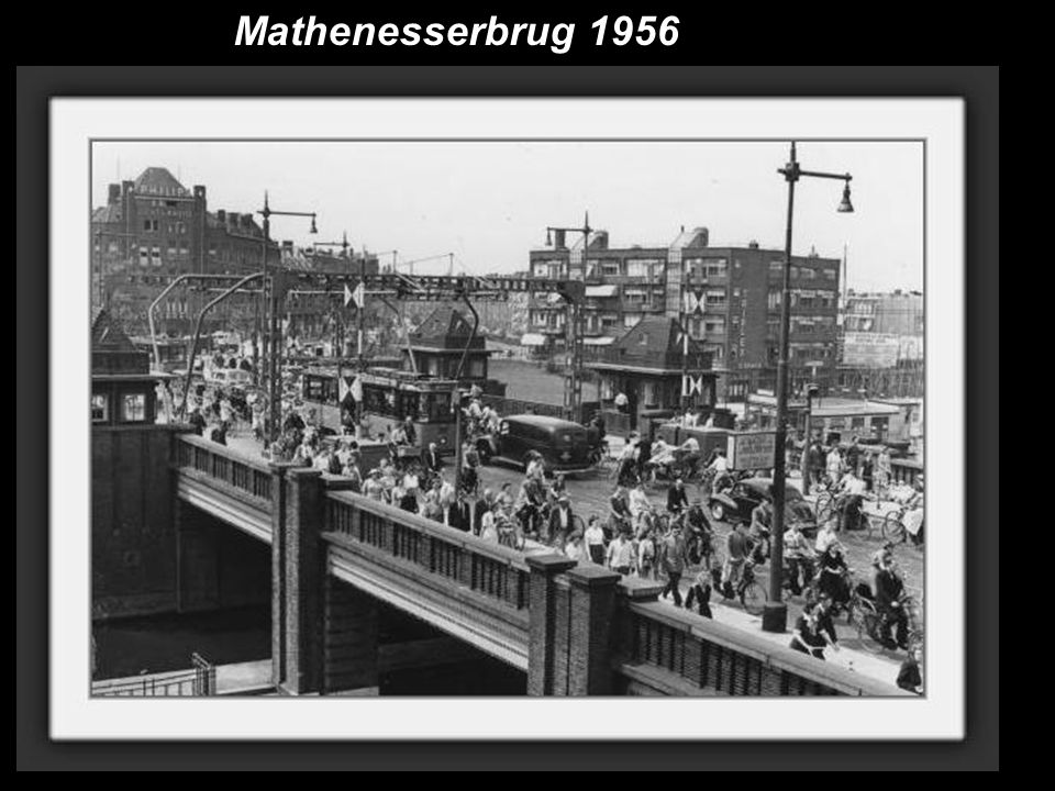 Mathenesserbrug 1956