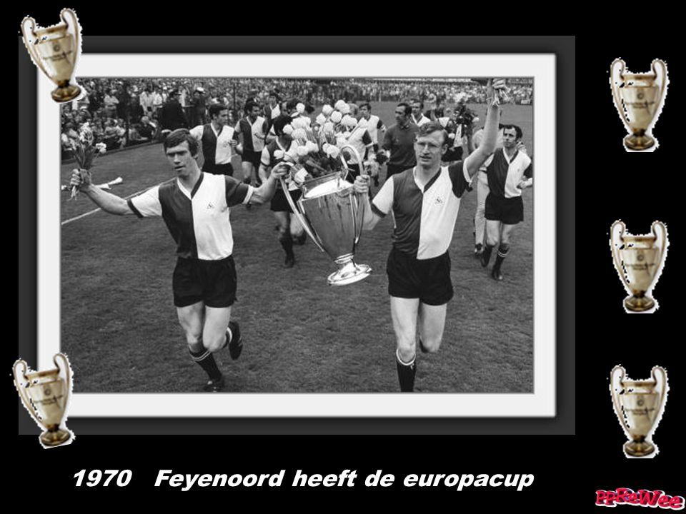 1970 Feyenoord heeft de europacup