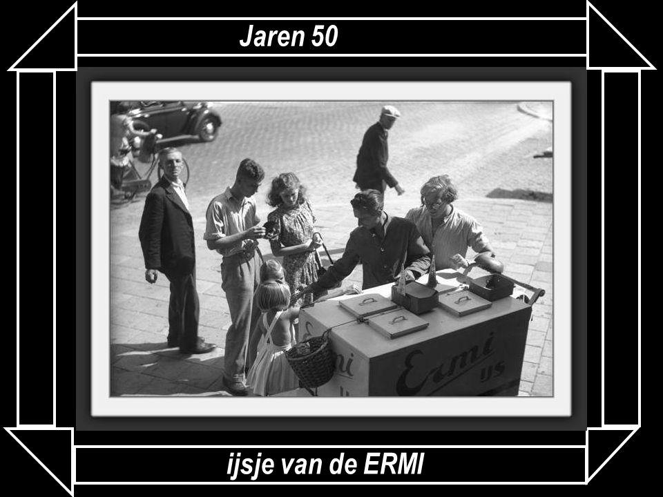 Jaren 50 ijsje van de ERMI