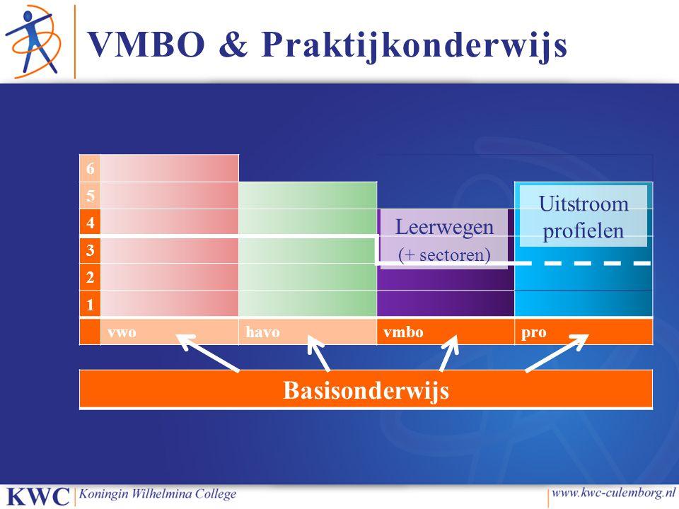 VMBO & Praktijkonderwijs