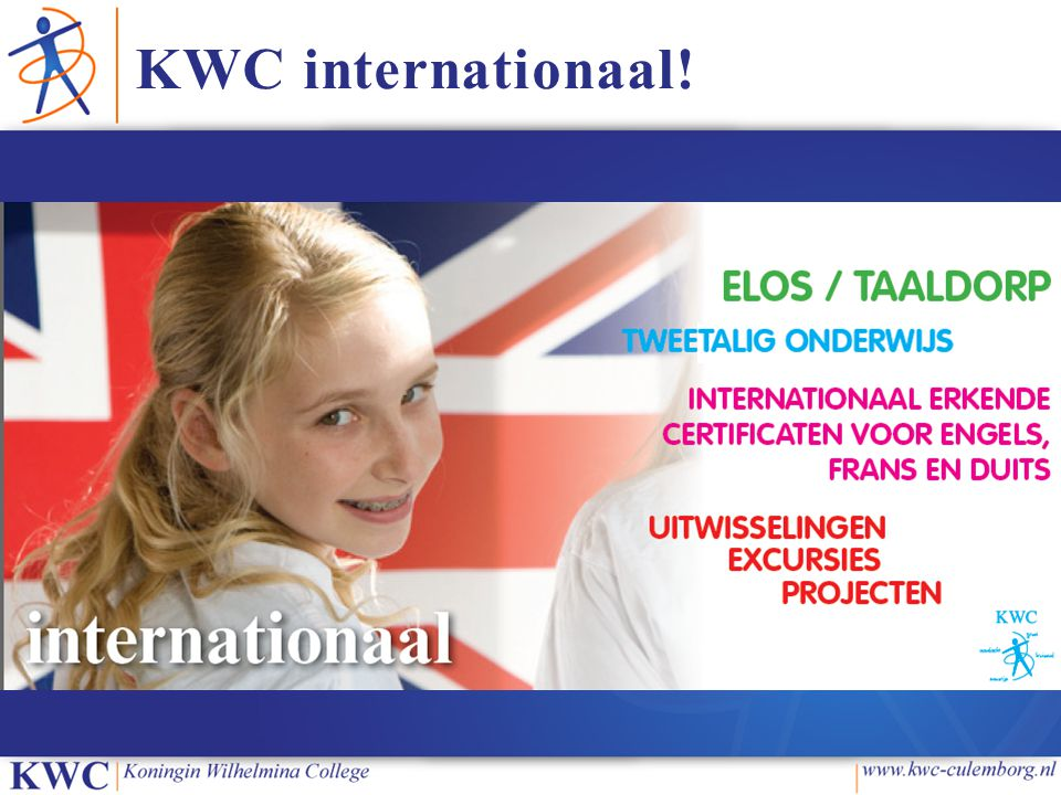 KWC internationaal!