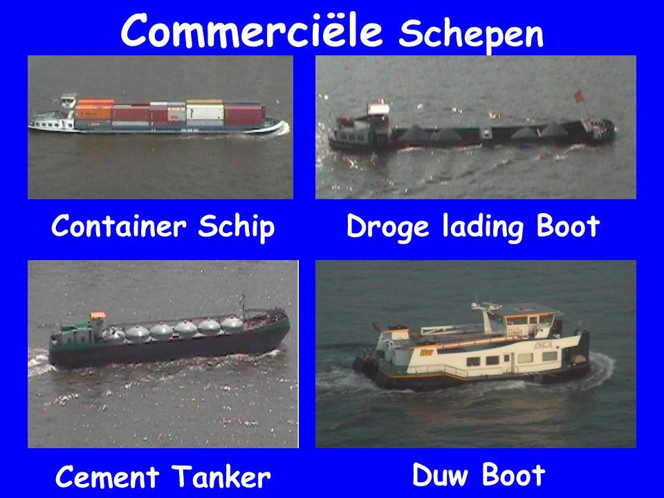 Commerciële Schepen Container Schip Droge lading Boot Cement Tanker