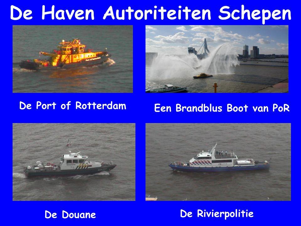 De Haven Autoriteiten Schepen Een Brandblus Boot van PoR