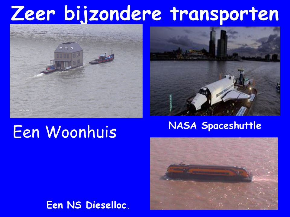 Zeer bijzondere transporten