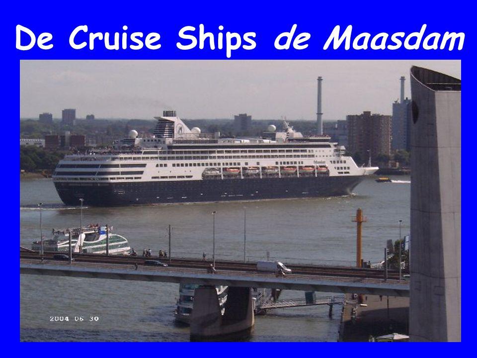 De Cruise Ships de Maasdam HAL