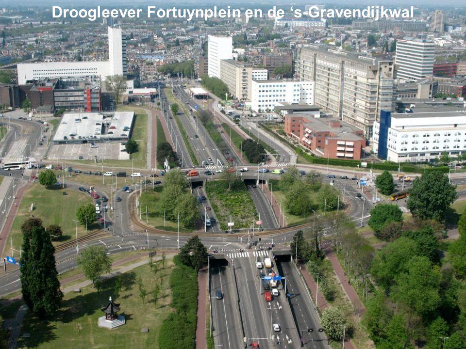 Droogleever Fortuynplein en de 's-Gravendijkwal