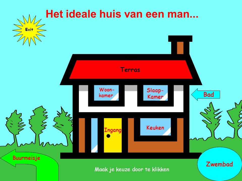 Het ideale huis van een man...