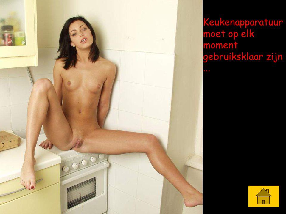 Keukenapparatuur moet op elk moment gebruiksklaar zijn ...