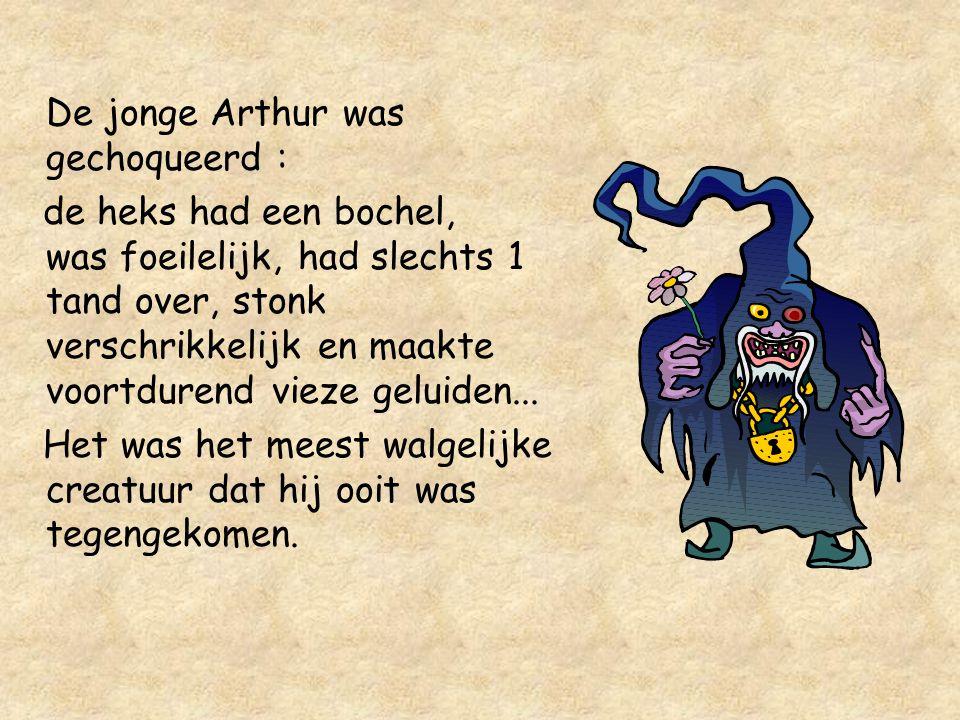 De jonge Arthur was gechoqueerd :