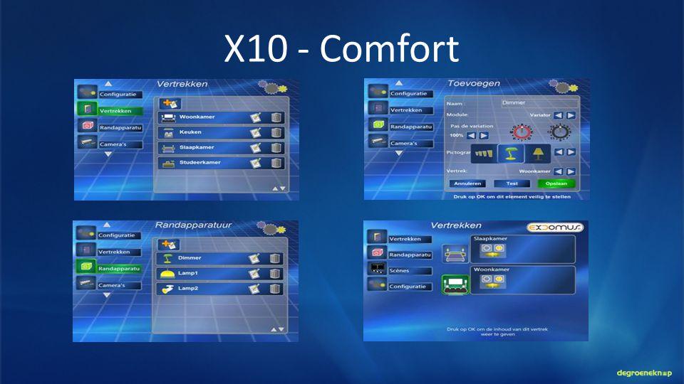 X10 - Comfort