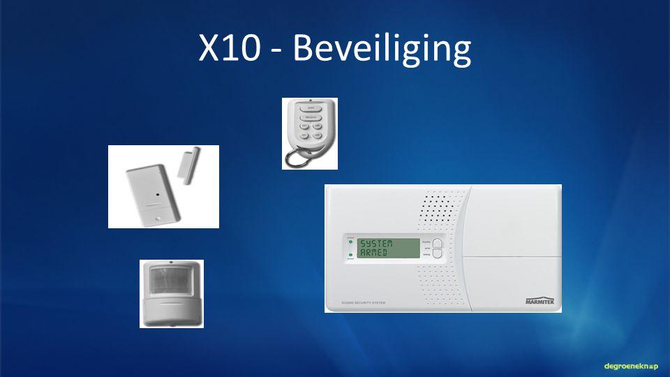 X10 - Beveiliging