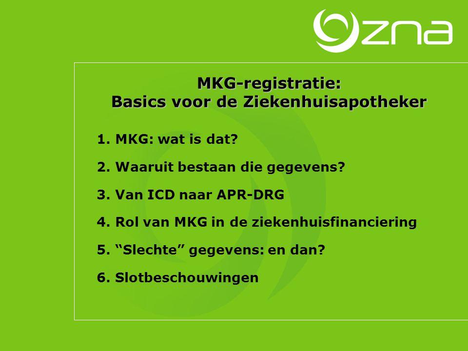 MKG-registratie: Basics voor de Ziekenhuisapotheker