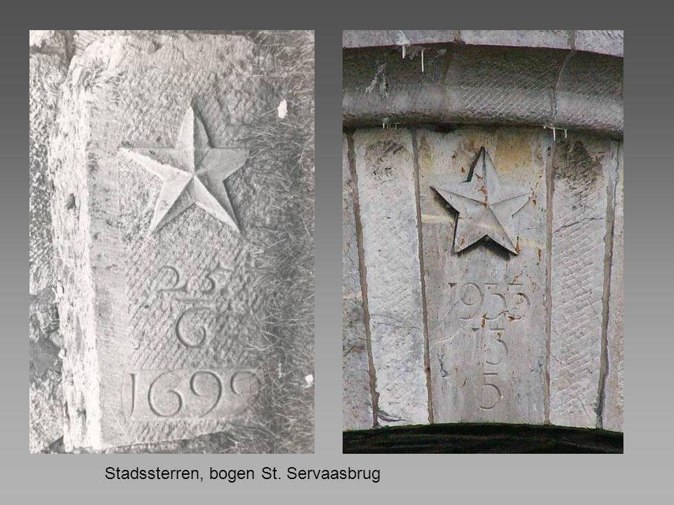 Stadssterren, bogen St. Servaasbrug