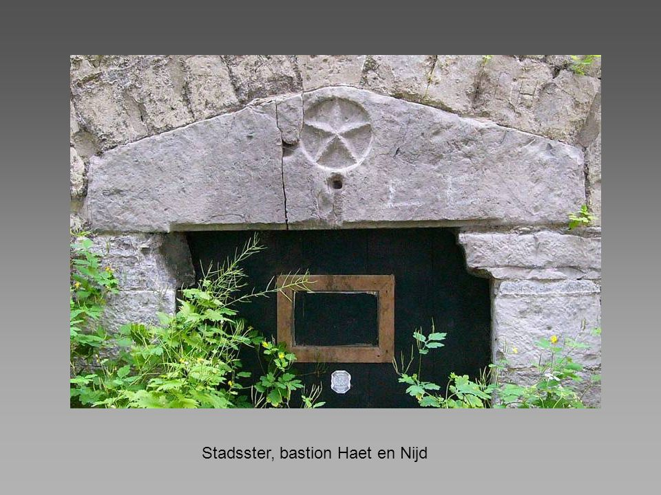 Stadsster, bastion Haet en Nijd