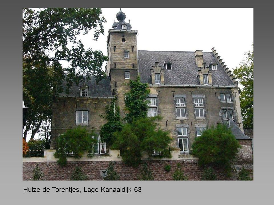 Huize de Torentjes, Lage Kanaaldijk 63