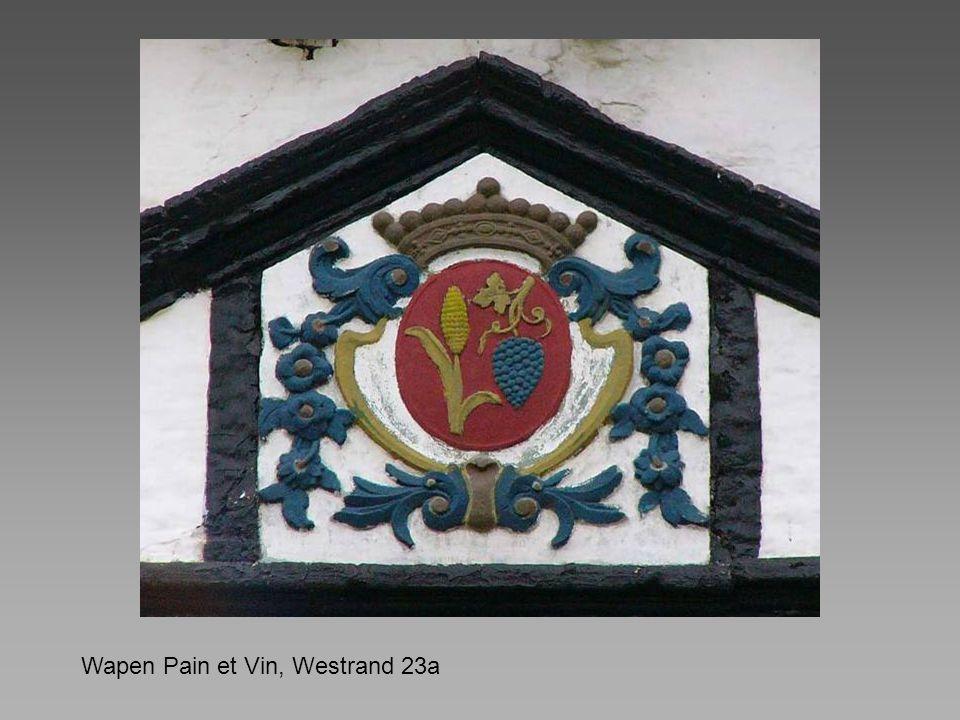Wapen Pain et Vin, Westrand 23a