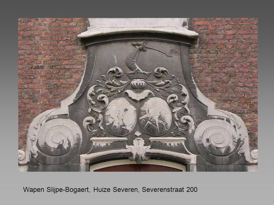 Wapen Slijpe-Bogaert, Huize Severen, Severenstraat 200