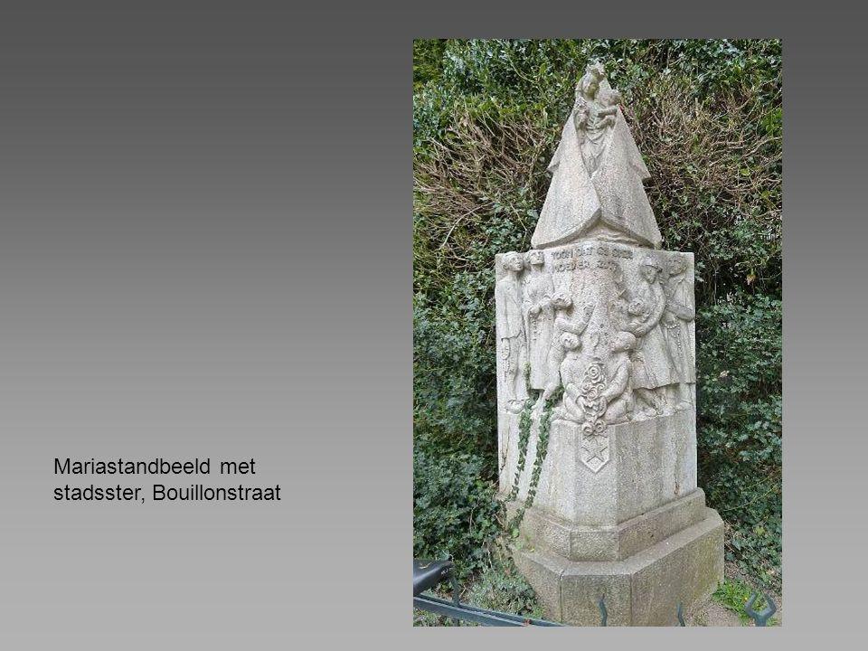 Mariastandbeeld met stadsster, Bouillonstraat